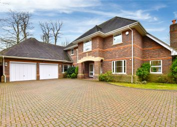 Thumbnail 5 bed detached house to rent in Blue Cedars Place, Cobham, Surrey