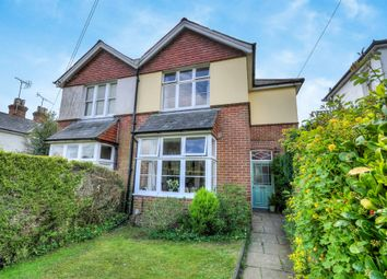 Thumbnail 3 bed semi-detached house for sale in Stanmore Lane, Winchester