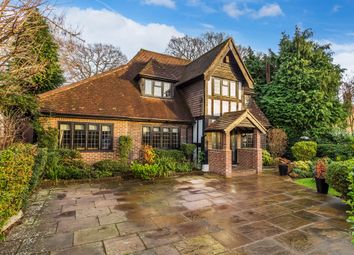 Thumbnail 4 bed detached house for sale in Wheeler Avenue, Oxted