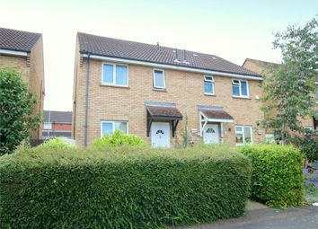 Thumbnail 2 bedroom semi-detached house for sale in Prince Close, Eaton Socon, St. Neots