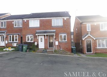 Thumbnail 2 bed end terrace house to rent in Mistletoe Drive, Walsall