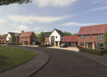 Thumbnail 3 bed semi-detached house for sale in Mary Lane North, Great Bromley, Colchester