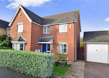 Thumbnail 4 bed detached house for sale in Willow Farm Way, Broomfield, Herne Bay, Kent