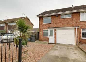 Thumbnail 3 bed semi-detached house for sale in St. Bernard Close, Broughton, Brigg