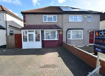Thumbnail 3 bedroom semi-detached house for sale in Russell Road, Northolt