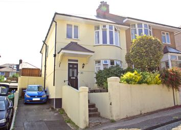 Thumbnail 3 bed detached house for sale in Hollycroft Road, Plymouth