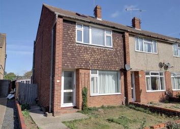 Thumbnail 3 bed end terrace house for sale in Hamilton Close, Broadwater, Worthing, West Sussex