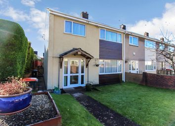 Thumbnail 3 bedroom end terrace house for sale in Hawthorne Close, Llanmartin, Newport