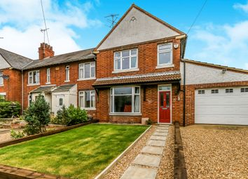 Thumbnail 4 bed end terrace house for sale in Manor Farm Road, Raunds, Wellingborough