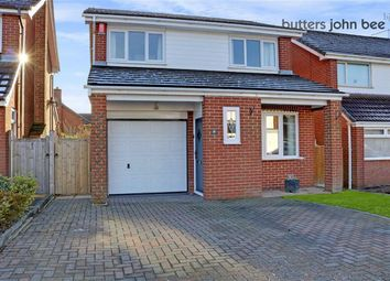 Thumbnail 3 bed detached house for sale in Ford Drive, Yarnfield, Staffordshire