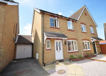 Thumbnail 3 bed semi-detached house to rent in Fairview Gardens, Walmer, Deal