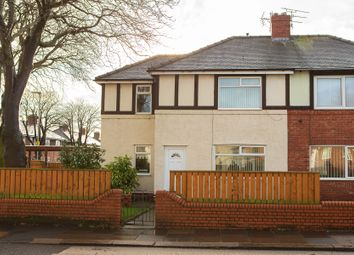 Thumbnail 2 bed semi-detached house for sale in Hodgsons Road, Blyth, Northumberland