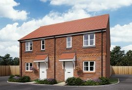 Thumbnail 2 bedroom semi-detached house for sale in Jordan Grove, Alton Hampshire