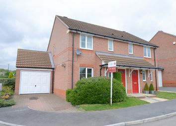 Thumbnail 3 bed semi-detached house for sale in Central Drive, Wingerworth, Chesterfield