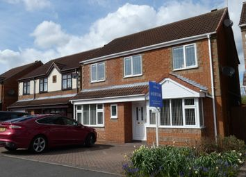 Thumbnail 4 bedroom detached house for sale in Belcher Close, Heather
