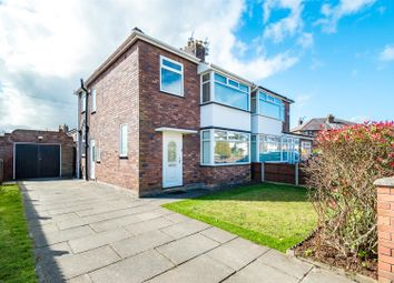 Thumbnail 3 bed semi-detached house for sale in Gunning Avenue, Eccleston, St. Helens