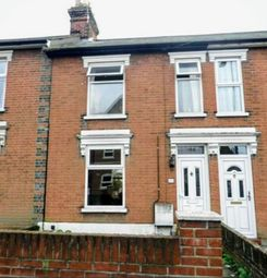 Thumbnail 3 bed terraced house to rent in Foxhall Road, Ipswich