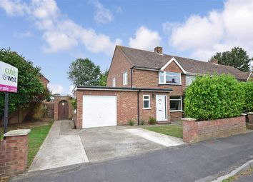 Thumbnail 3 bed semi-detached house for sale in Restawyle Avenue, Hayling Island, Hampshire
