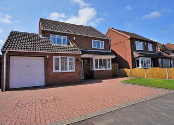 Thumbnail 4 bed detached house for sale in De Ferrers Croft, Burton-On-Trent