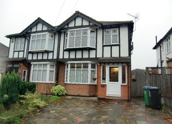 Thumbnail 3 bedroom semi-detached house for sale in St. Albans Road, Garston Watford, Herts