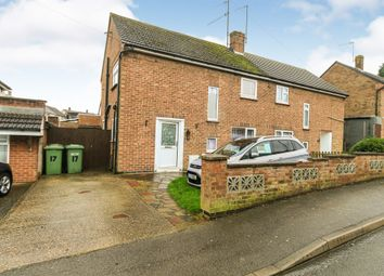 Thumbnail 3 bed semi-detached house for sale in Dalkeith Road, Wellingborough