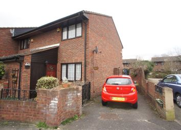 Thumbnail 2 bed end terrace house for sale in Walsham Close, Thamesmead, London
