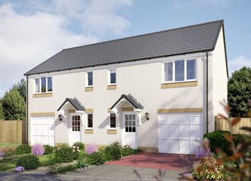 "Thumbnail 3 bedroom semi-detached house for sale in ""The Newton "" at The Wisp, Edinburgh"