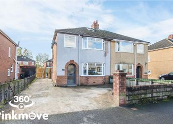Thumbnail 3 bed semi-detached house for sale in Dorset Crescent, Newport