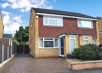 Thumbnail 2 bed semi-detached house for sale in Farnham Close, Mickleover, Derby