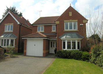Thumbnail 4 bed detached house for sale in Henson Close, Radcliffe-On-Trent, Nottingham