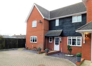 Thumbnail 3 bed semi-detached house for sale in Chase Court 695 Main Road, Dovercourt, Harwich