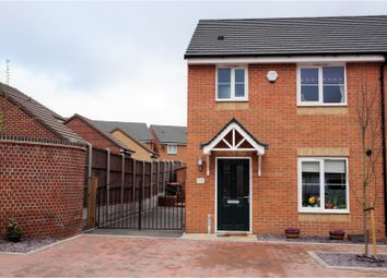 Thumbnail 3 bed semi-detached house for sale in Palisade Close, Newport Shropshire