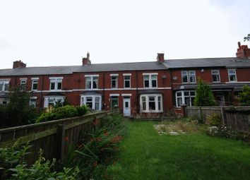 Thumbnail 4 bed terraced house for sale in Park Road East, Ashington