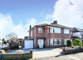Thumbnail 3 bedroom semi-detached house for sale in St James Avenue, Whetstone, Whetstone N20,