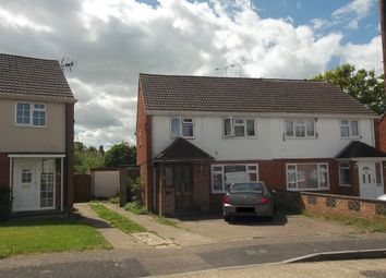 Thumbnail 3 bed semi-detached house to rent in Coombe Close, Crawley