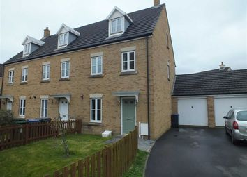 Thumbnail 3 bed end terrace house for sale in Hackney Way, Westbury, Wiltshire