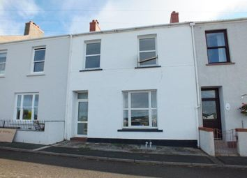 Thumbnail 3 bed terraced house to rent in Great Eastern Terrace, Milford Haven, Pembrokeshire