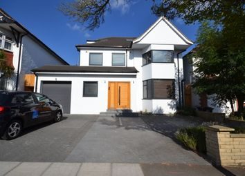 Thumbnail 5 bed detached house to rent in Crespigny Road, Hendon, London