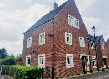 Thumbnail 4 bed semi-detached house for sale in Chaffinch Chase, Gillingham