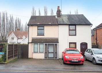 Thumbnail 2 bedroom semi-detached house to rent in Dunmow Road, Bishops Stortford, Herts
