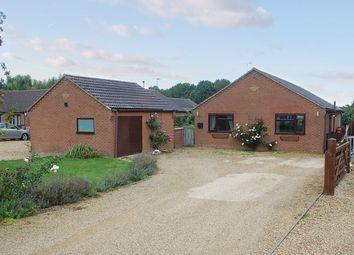 Thumbnail 2 bed detached bungalow for sale in Cross Road, Sutton St. Edmund, Spalding