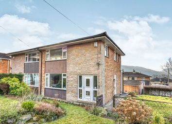 Thumbnail 3 bed semi-detached house for sale in Hullett Drive, Mytholmroyd, Hebden Bridge