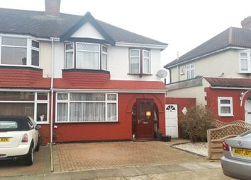 Thumbnail 3 bed terraced house to rent in Woodgrange Avenue, Enfield