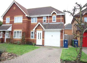 Thumbnail 3 bed detached house for sale in Lindeth Close, Huntingdon