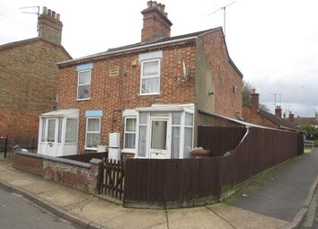 Thumbnail 2 bed semi-detached house for sale in Cannon Street, Wisbech