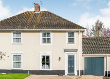 Thumbnail 3 bed semi-detached house for sale in Cranesbill Drive, Bury St. Edmunds