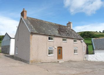 Thumbnail 3 bedroom detached house to rent in Pontfaen, Brecon