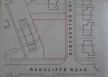 Thumbnail Land for sale in Ribchester Drive, Bury