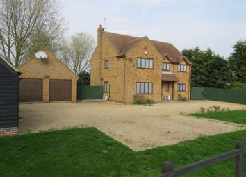 Thumbnail 4 bed detached house for sale in Holme Road, Ramsey St. Marys, Ramsey, Huntingdon