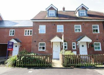 Thumbnail 3 bed town house to rent in Pinewood Crescent, Hermitage, Thatcham